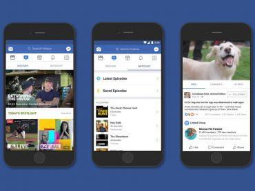 Facebook Watch: La nueva plataforma que competirá con Youtube y Netflix.